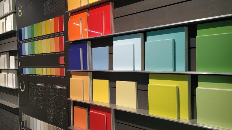 Kleurentegels showroom